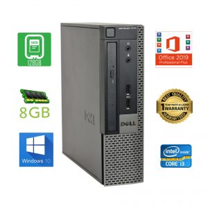 Dell OptiPlex 7010 USFF Core i3 3220 3.3GHz 8GB 128GB -Win 10 Pro